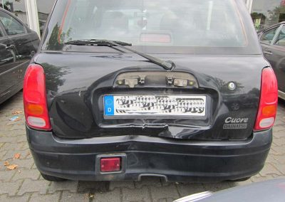 SV Dreher Unfall Pkw 080