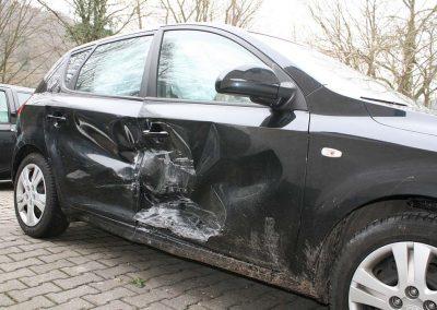 SV Dreher Unfall Pkw 131